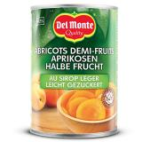 Del Monte Aprikosen halbe Frucht mit Aprikosenmark gezuckert