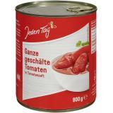 Jeden Tag Tomaten in Tomatensaft geschält