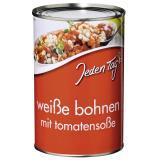 Jeden Tag Baked Beans Weiße Bohnen mit Tomatensoße