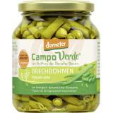 Demeter Campo Verde Grüne Bio Brechbohnen