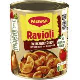 Maggi Ravioli in pikanter Sauce mit Fleisch, 2 Port.