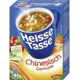 Erasco Heisse Tasse Chinesische Gemüse-Suppe