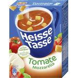Erasco Heisse Tasse Tomate-Mozzarella-Suppe
