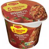 Maggi 5 Minuten Terrine Spaghetti in Tomatensauce, Becher