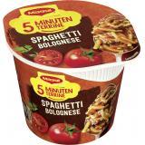 Maggi 5 Minuten Terrine Spaghetti Bolognese, Becher