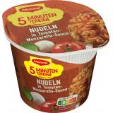 Maggi 5 Minuten Terrine Nudeln Tomate-Mozzarella
