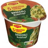Maggi 5 Minuten Terrine Broccoli Nudeltopf, Becher
