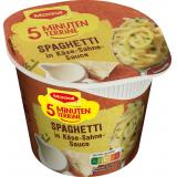 Maggi 5 Minuten Terrine Spaghetti in Käse-Sahne-Sauce, Becher