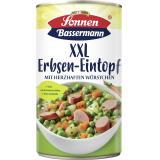 Sonnen Bassermann Unser  XXL Erbsentopf mit zarter Bockwurst