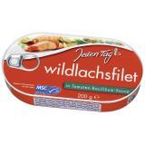 Jeden Tag Wildlachsfilet in Tomaten-Basilikum-Sauce