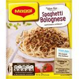 Maggi fix & frisch, Spaghetti Bolognese, Beutel, ergibt 3 Port.