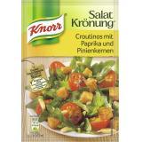 Knorr Salatkrönung Croutinos mit Paprika und Pinienkernen