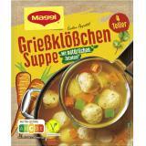 Maggi Guten Appetit Grießklößchen-Suppe