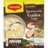Maggi Für Genießer, Skandinavische Krabben-Suppe, Beutel, ergibt  2 Teller