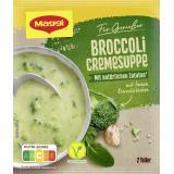 Maggi Für Genießer, Blumenkohl-Broccoli Cremesuppe, Beutel, ergibt 2 Teller