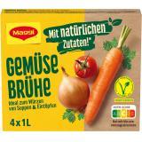 Maggi Klare Gemüsebrühe,  ergibt 4 Liter