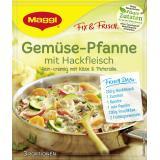 Maggi fix & frisch Gemüse-Pfanne mit Hackfleisch