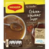 Maggi Für Genießer, Ochsenschwanz Suppe, Beutel, ergibt 2 Teller