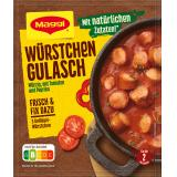Maggi fix & frisch, Würstchen Gulasch, Beutel, ergibt 2 Port.
