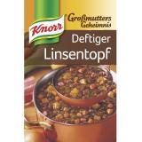 Knorr Großmutters Geheimnis Deftiger Linsentopf mit Speck