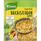 Knorr Suppenliebe Buchstaben Suppe