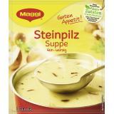 Maggi Guten Appetit, Steinpilz Suppe, Beutel, ergibt  3 Teller
