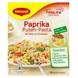 Maggi fix & frisch Paprika Puten-Pasta mit Mais & Frischkäse, 4 Port.