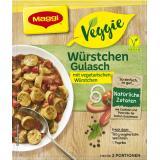 Maggi Veggie Würstchen Gulasch