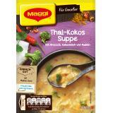 Maggi für Genießer, Thai-Kokus Suppe, Beutel, ergibt 2 Teller