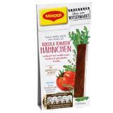 Maggi Ideen vom Wochenmarkt Würz-Paste für Rucola Tomaten Hähnchen