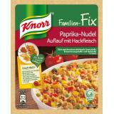 Knorr Familien-Fix Paprika-Nudel Auflauf mit Hackfleisch