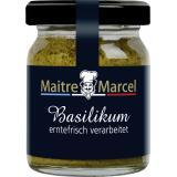 Maitre Marcel Basilikum in Öl