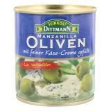 Feinkost Dittmann Spanische grüne Oliven gefüllt mit Käse-Creme