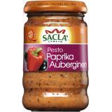 Sacla Pesto Paprika & Auberginen