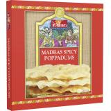 Truly indian Madras Spicy Poppadums