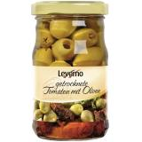 Leverno Getrocknete Tomaten in Öl mit Oliven