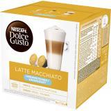 Nescafé Dolce Gusto Kaffeekapseln, Latte Macchiato ungesüßt, 16 Kapseln (8x2)