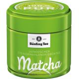 Bünting Matcha Grüntee pur