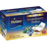 Meßmer Tee des Jahres 2017 Heidelbeere-Kokos