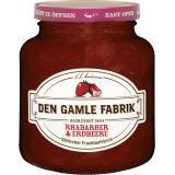 Den Gamle Fabrik Rhabarber&Erdbeere Fruchtaufstrich