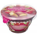 Frühstücks-Konfitüre die Echte Extra Erdbeer-Rhabarber