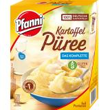 Pfanni Kartoffel Püree mit entrahmter Milch komplett