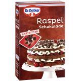 Dr. Oetker Raspel Schokolade Zartbitter