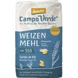 Demeter Campo Verde Bio Weizenmehl Type 550