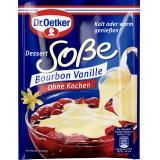 Dr. Oetker Dessert Sauce ohne Kochen Bourbon Vanille