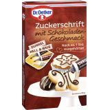Dr. Oetker Zuckerschrift mit Schokoladengeschmack