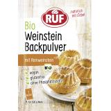 Ruf Bio Weinstein Backpulver