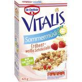 Dr. Oetker Vitalis Sommermüsli Erdbeer-weiße Schokolade