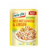 Reis-fit Kornmix Reis mit Gemüse & Linsen