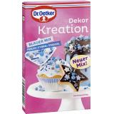 Dr. Oetker Dekor Kreation Blauer Mix